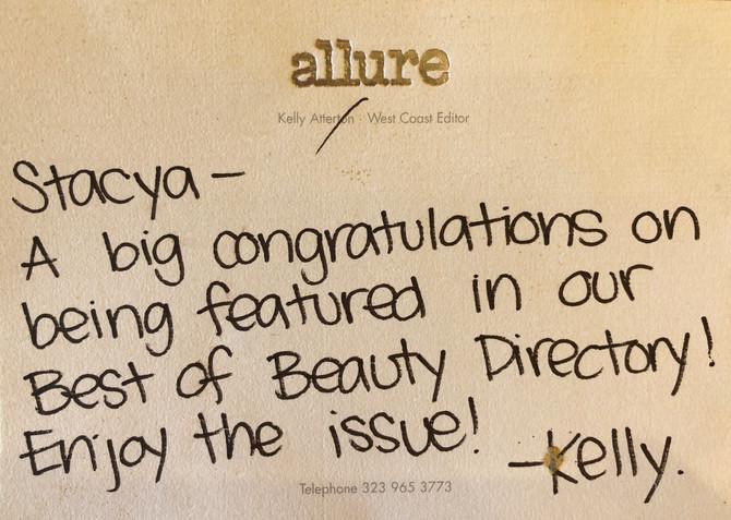 We Love Allure Magazine!