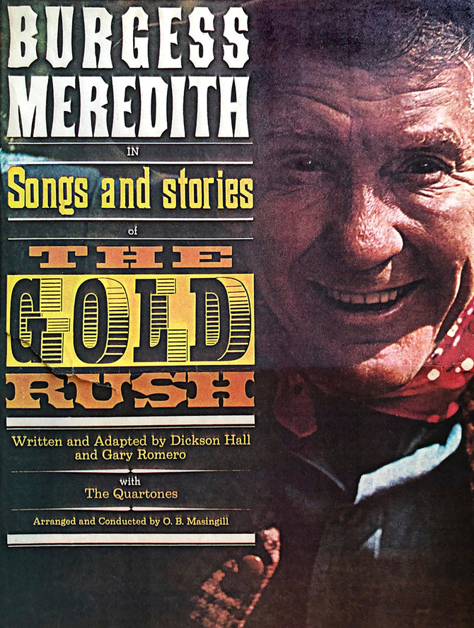 Part 33: Burgess Meredith and The Gold Rush