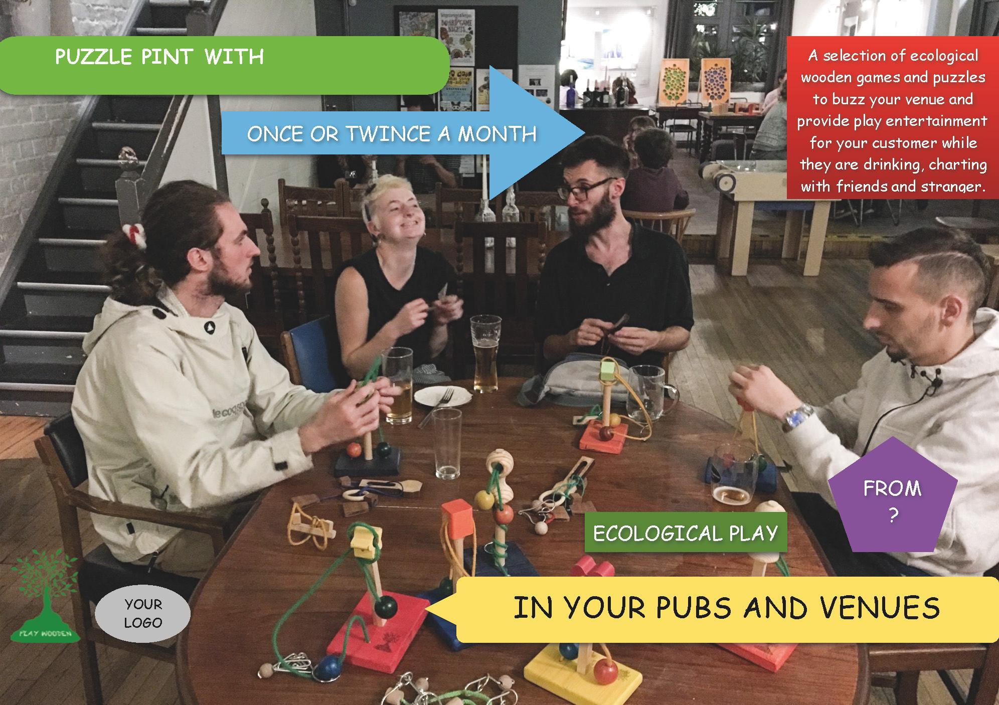 Social Puzzle Pint