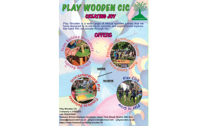 Festivals Wooden Game Play Area