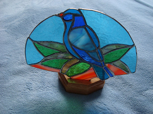 Bluebird Fan Lamp