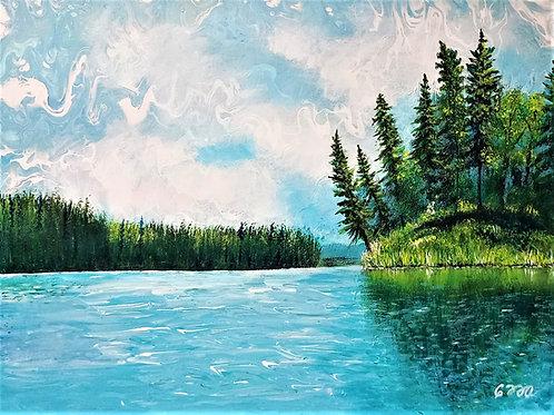 Hanging Heart Lake