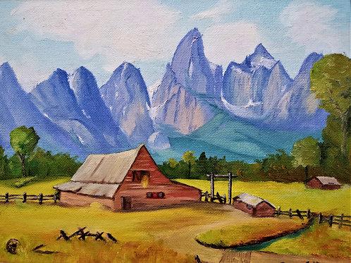 Pasture in the Peaks