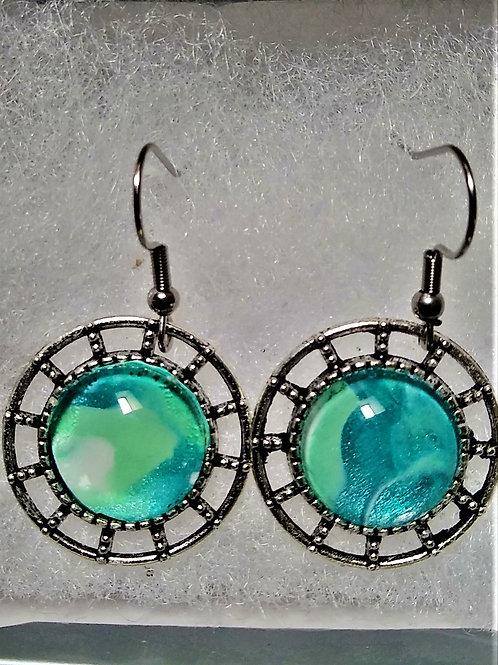 Mint/Aqua/Teal Earrings