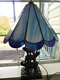 Blue Marble Lamp.JPG