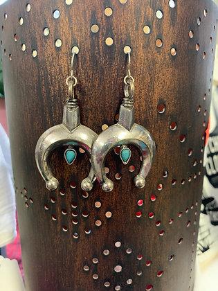 Silver Naja Earrings
