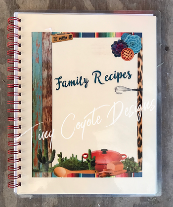Family Recipe Book TCD
