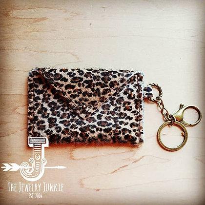 Sierra Credit Card Wallet - Mini Leopard
