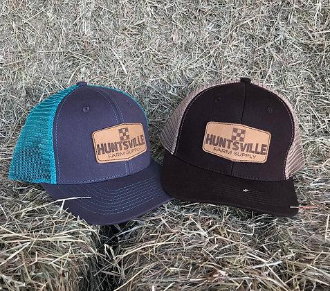 Huntsville Farm Supply Leather Patch Cap