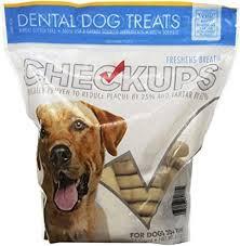 Checkup Dental Dog Treats 24ct