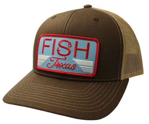 Red Dirt Fish Texas Cap