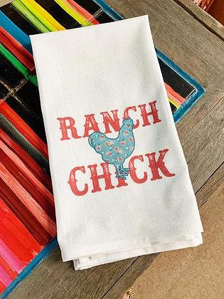Tea Towel Ranch Chick