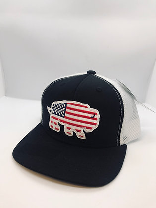 Red Dirt YOUTH Flag Buffalo Cap