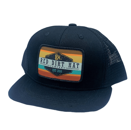 Red Dirt YOUTH Army Sunset Cap