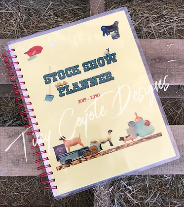 Stock Show Planner 2019-2020 TCD