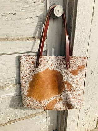 Leather Cowhide Short Purse H&D