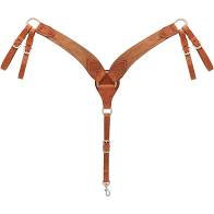 Weaver Rough Out Roper Breastcollar