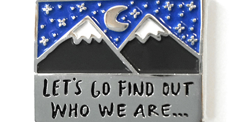 'Who We Are' Pin