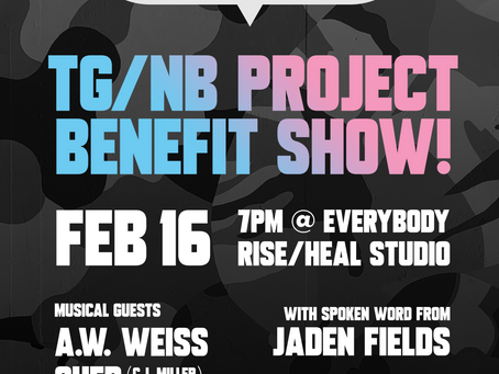 TG/NB Project Benefit Show!