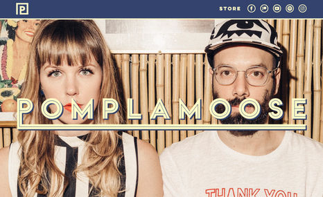 Pomplamoose Pomplamoose is an indie band with a strong presenc...