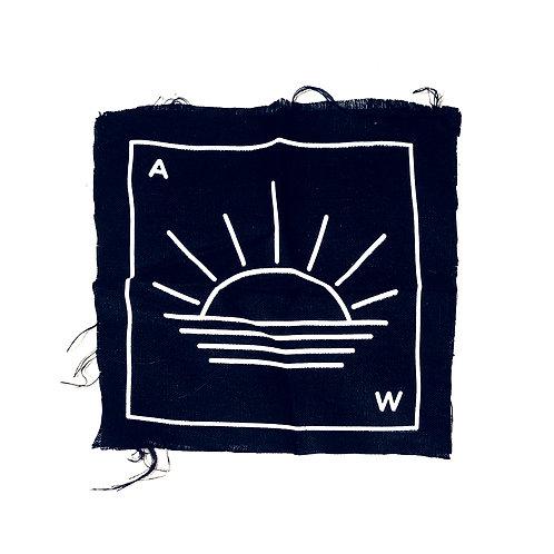 A.W. Sunset Back Patch