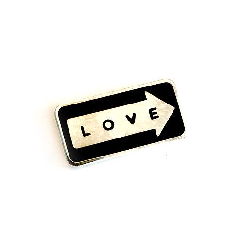 'One Way Love' Pin