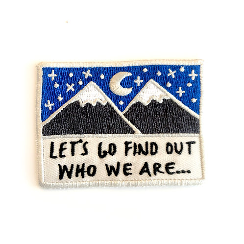 'Who We Are' Patch