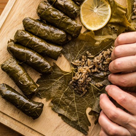 Olive Oil Leaf Sarma Recipe