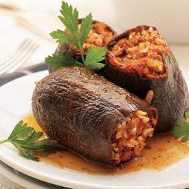 Eggplant Stuffed With Rice