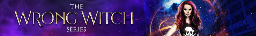 The Wrong Witch Series Website Banner co