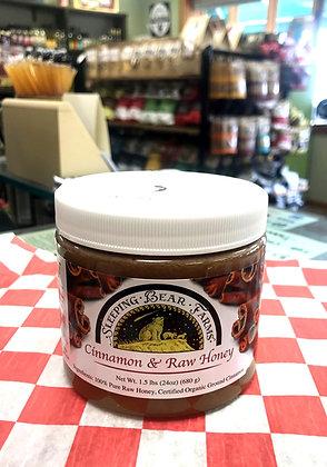 Cinnamon Raw Honey