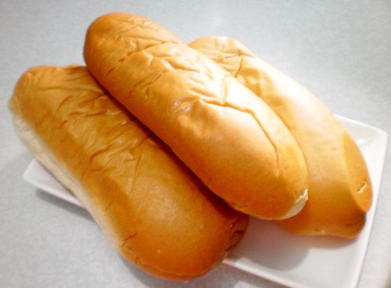 Preorder Hotdog / Bratwurst Buns (6 pack)