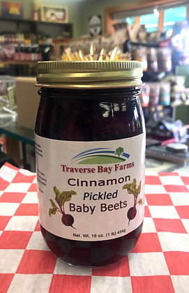 Cinnamon Pickled Baby Beets
