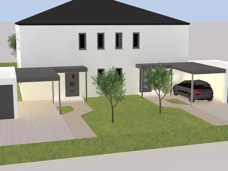 Doppelhaus in Karlskron