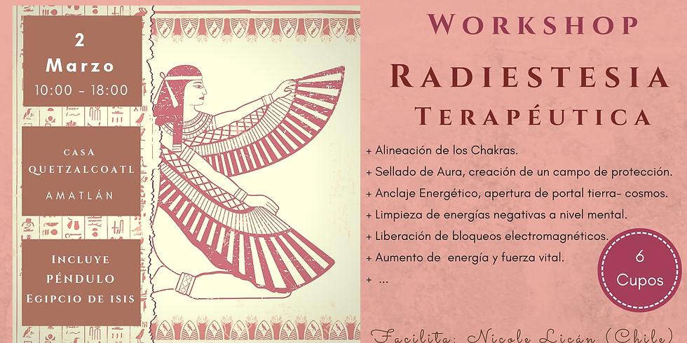 Radiestesia Terapéutica con Péndulo Egipcio