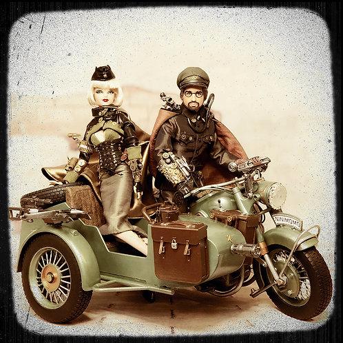 Steampunk Commando Duo