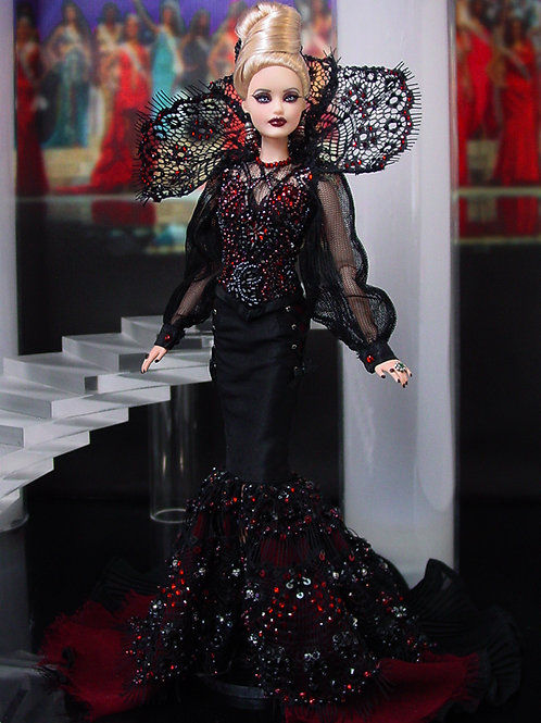 Gothic Vampire Barbie (and Ken)