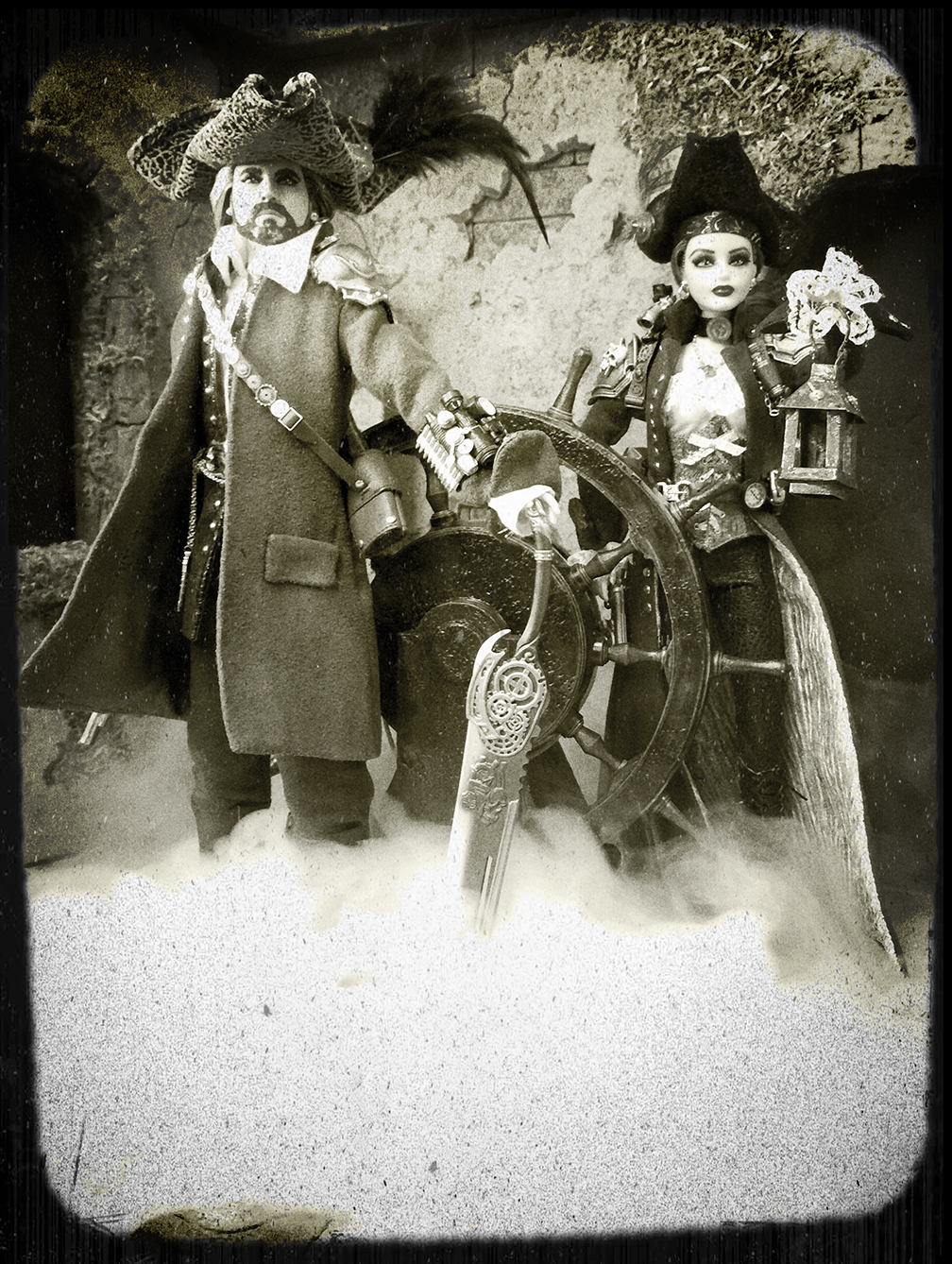 Steampunk Swashbucklers Duo