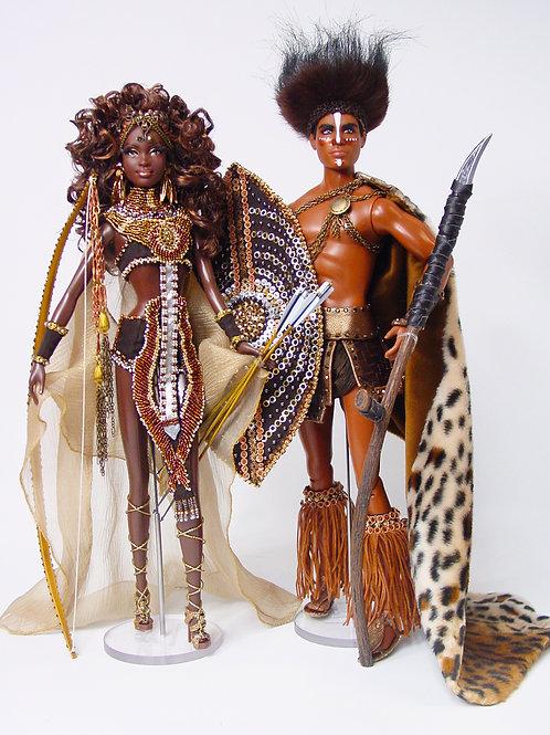African Warriors Duo