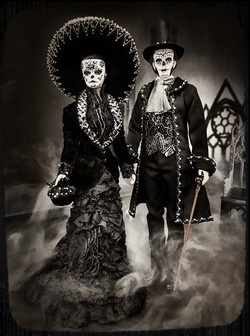 Day of the Dead Victorian Duo