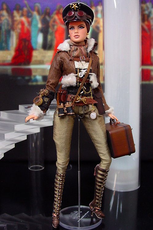 Aviator Steampunk Barbie (and Ken)