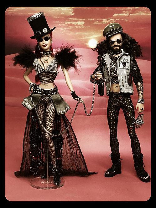 Burning Man Festival Duo