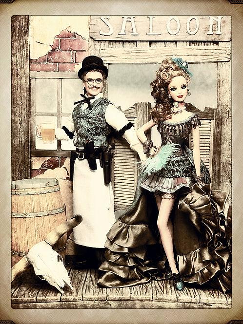 Wild West Saloon Duo