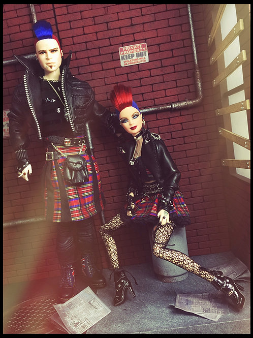 U.K. Punk Duo