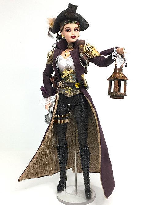 Steampunk Swashbuckler Barbie (and Ken)