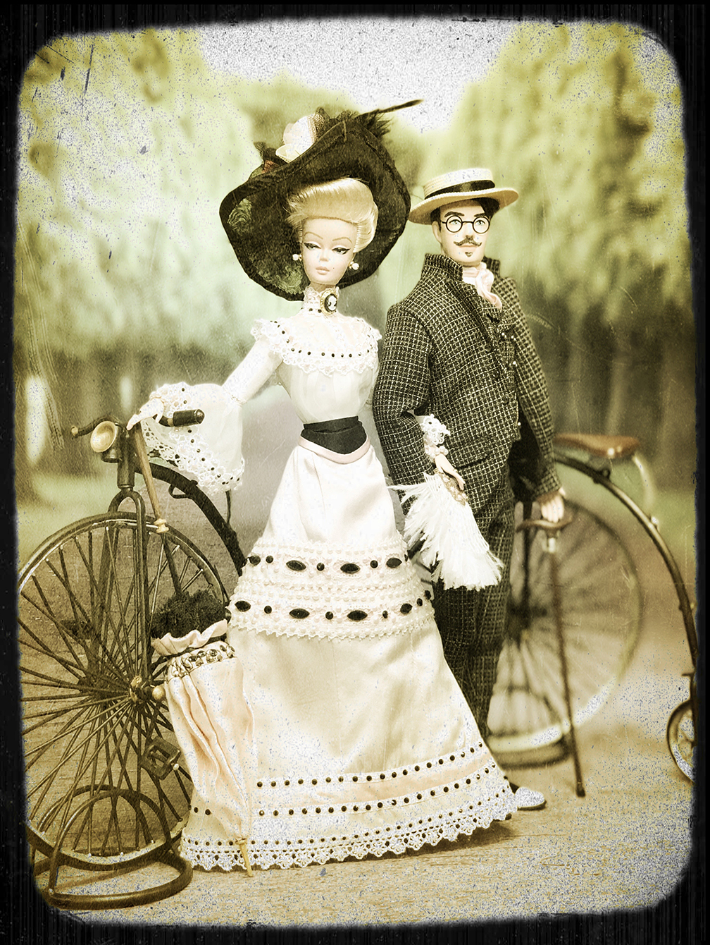 Edwardian Barbie and Ken