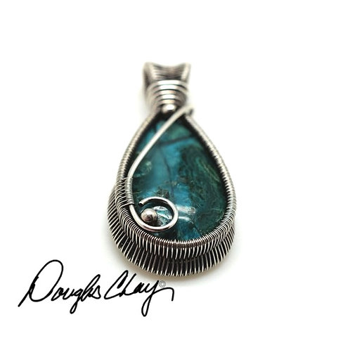 Inspiration Mine Chrysocolla with Silca