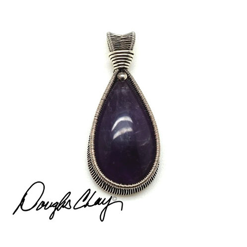 Amethyst - Lab Cultured Opal