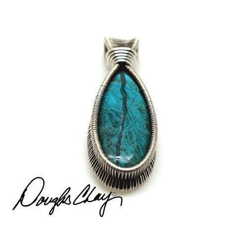 Inspiration Mine Chrysocolla with Silica