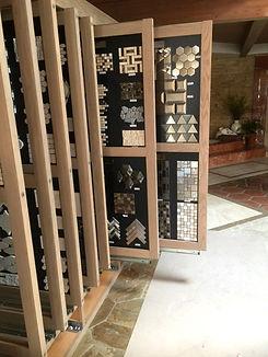 Samples in Santa Barbara Stone showroom
